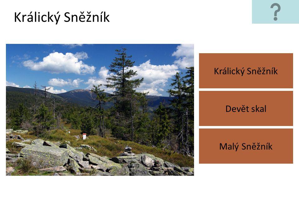 Hrubý Jeseník Praděd Klínovec Lysá hora