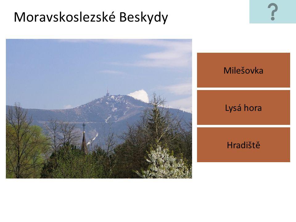 Doupovské hory Tok Hradiště Lysá hora
