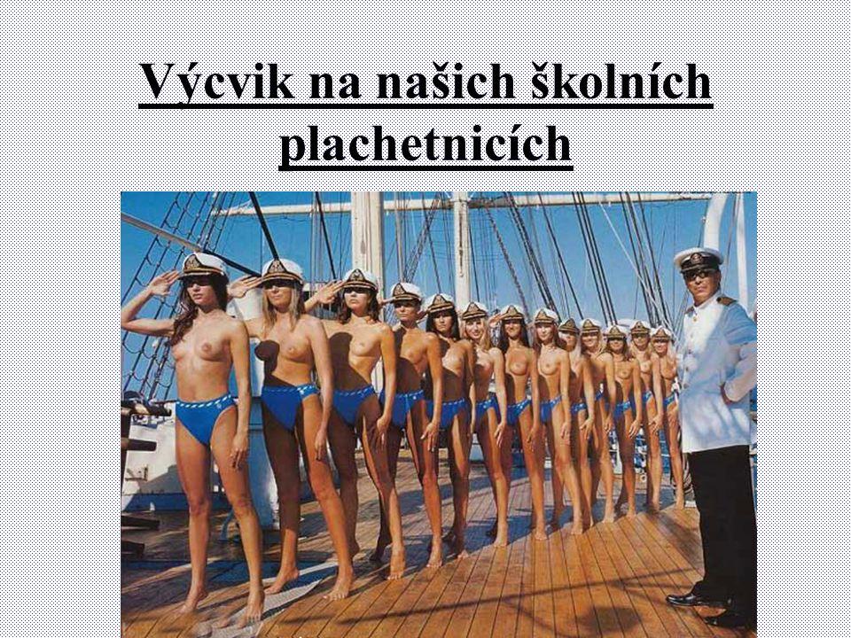 Výcvik na našich školních plachetnicích