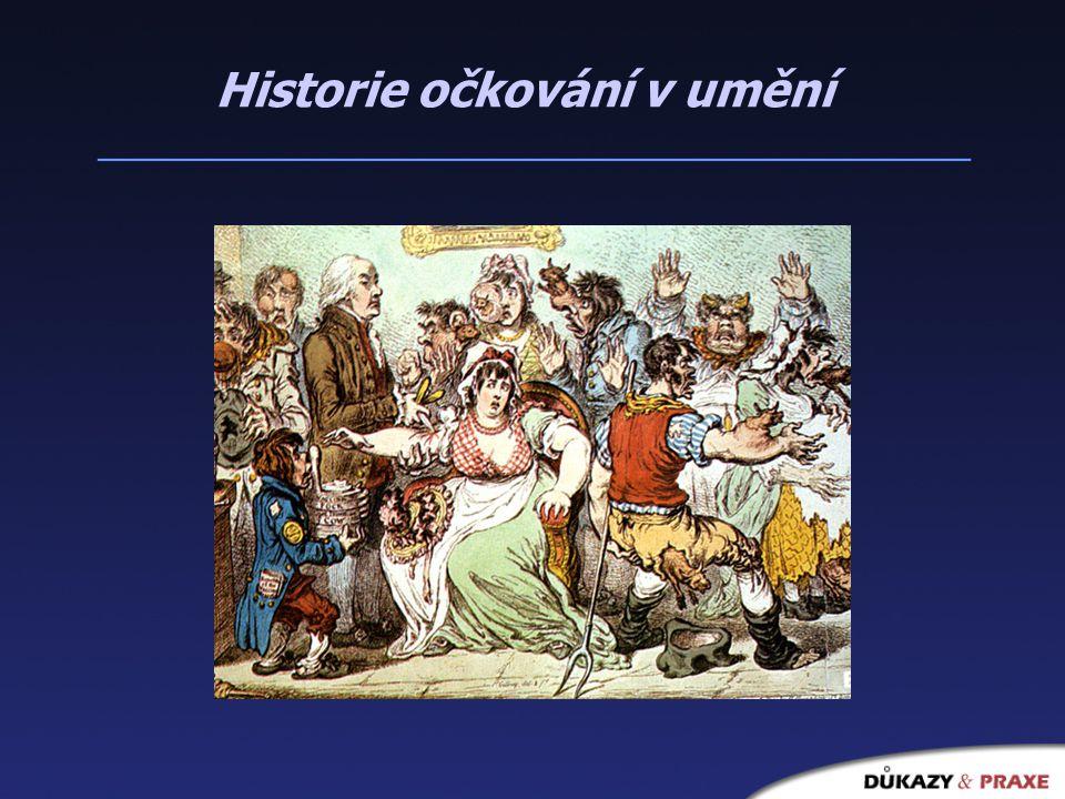 Historie očkování v umění