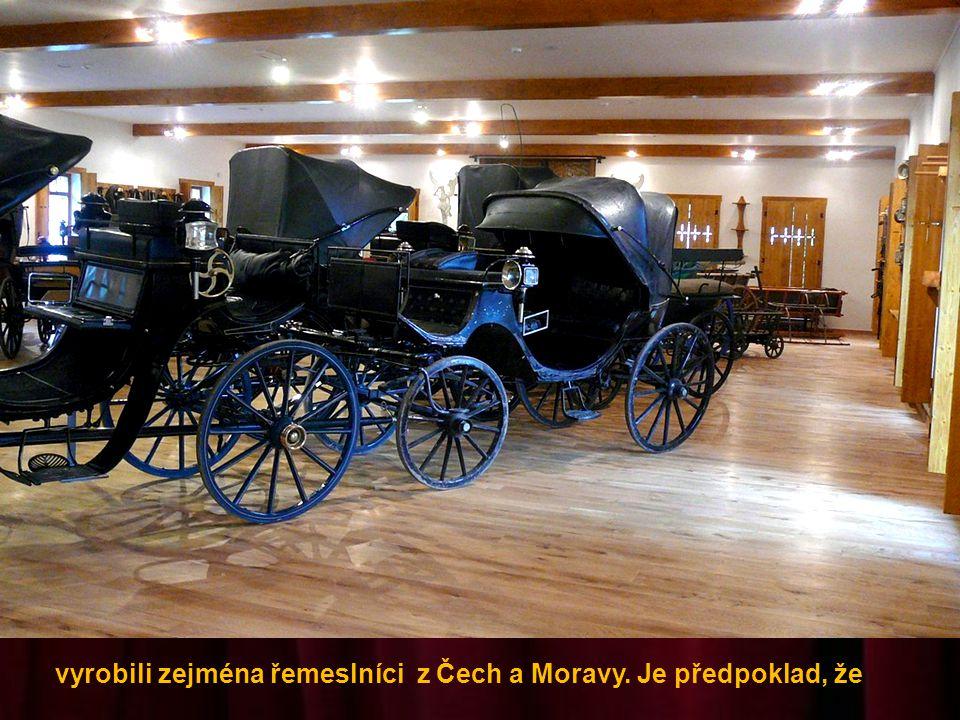 V muzeu je zatím 38 kočárů z období let 1750 – 1920, které