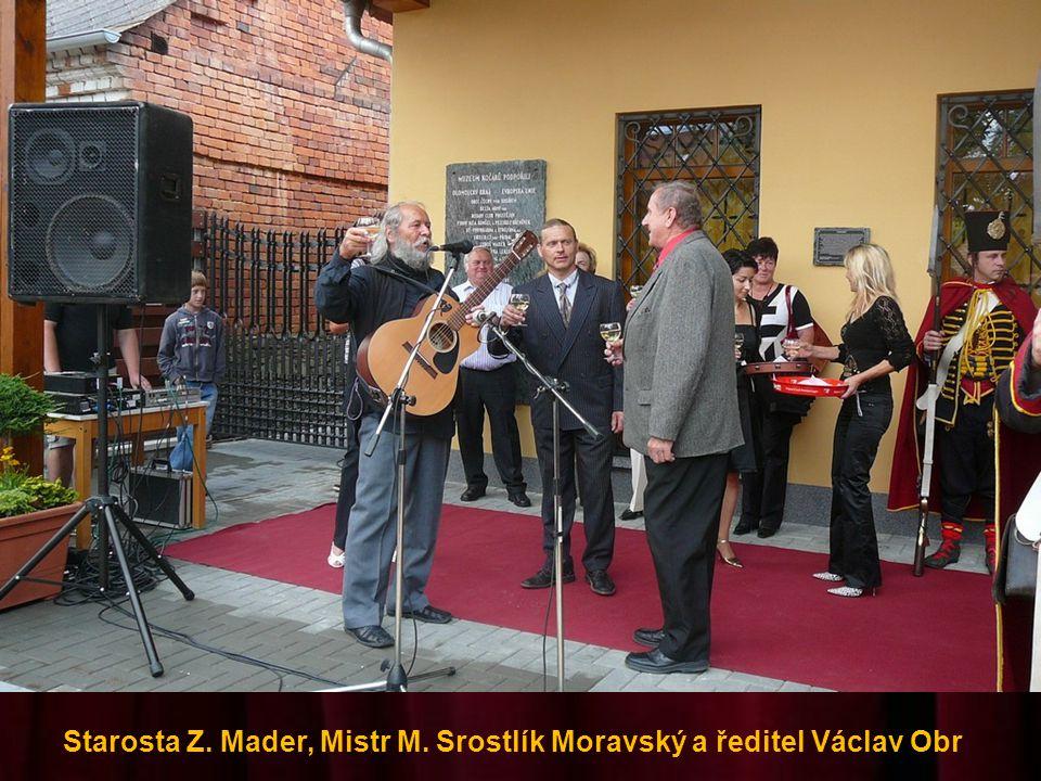 Ředitel muzea Václav Obr a syn