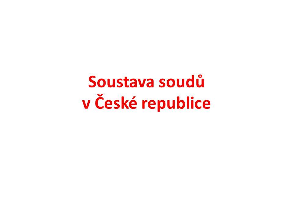 Soustava soudů v České republice