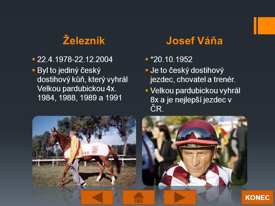  22.4.1978-22.12.2004  Byl to jediný český dostihový kůň, který vyhrál Velkou pardubickou 4x.