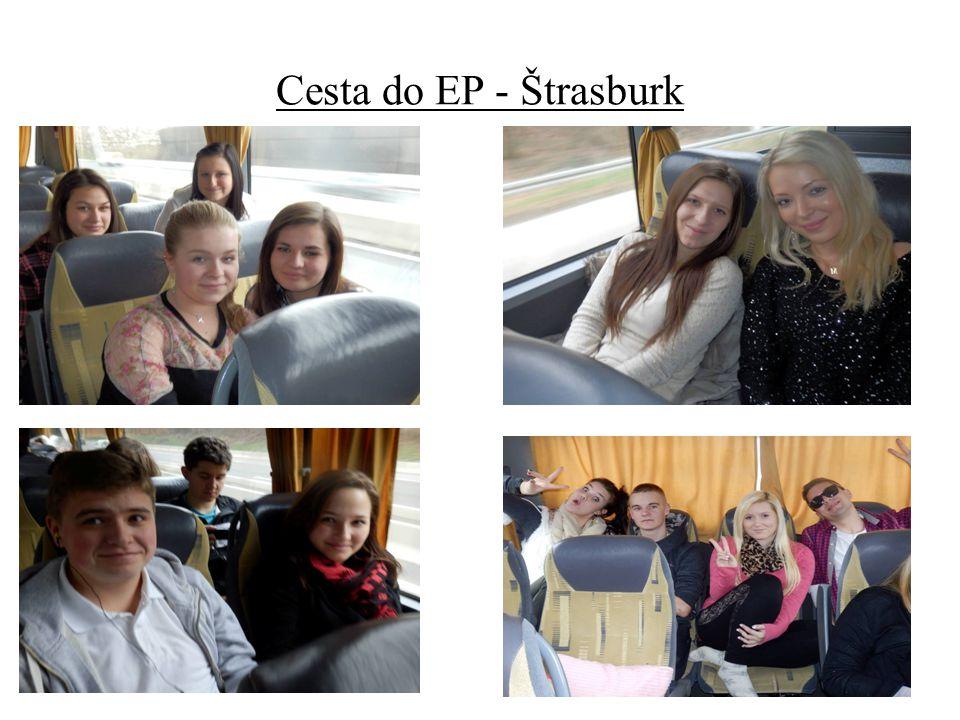 Cesta do EP - Štrasburk