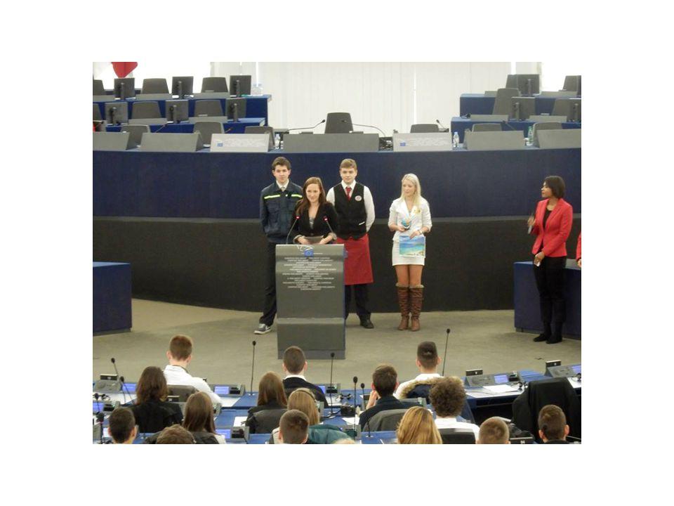 Uvnitř Evropského parlamentu – v hlavním jednacím sále