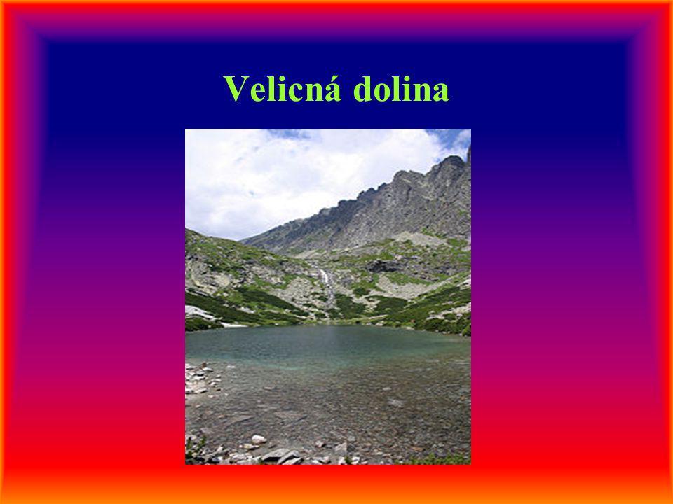 Velicná dolina