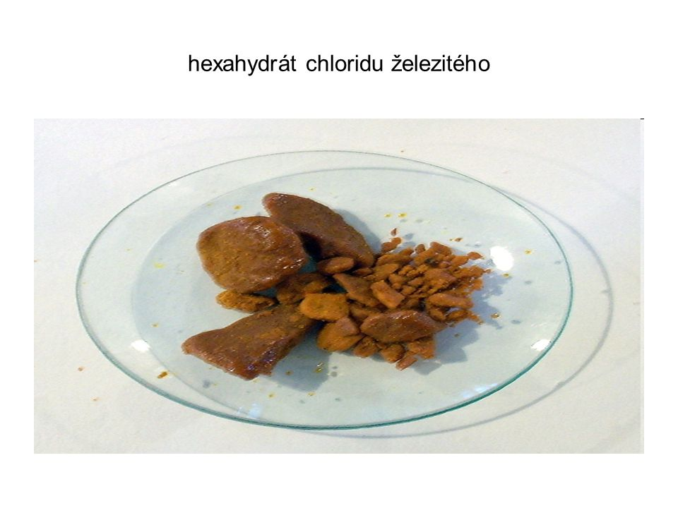 hexahydrát chloridu železitého