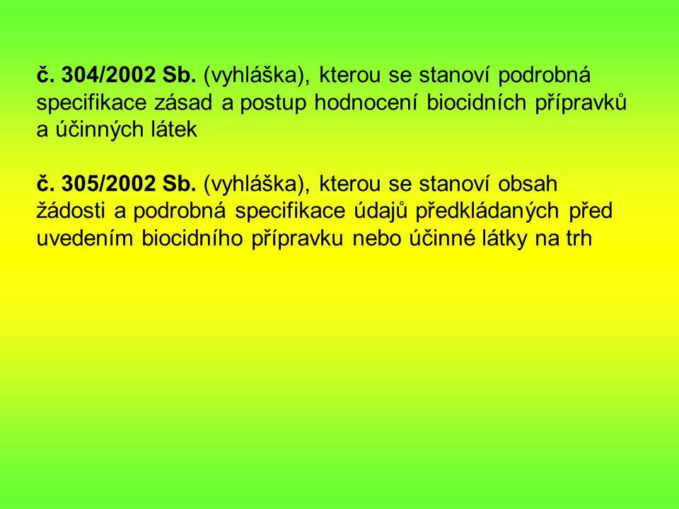 č.304/2002 Sb.