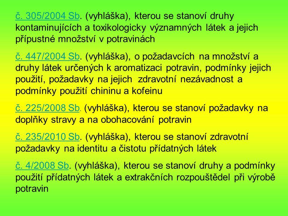 č.305/2004 Sbč. 305/2004 Sb.