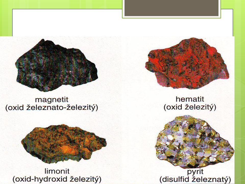 Suroviny  Koks (z černého uhlí) - je to téměř čistý uhlík a slouží k redukci oxidů železa  Vápenec CaCO 3 – napomáhá utvoření tzv.