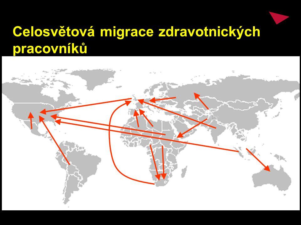 Celosvětová migrace zdravotnických pracovníků