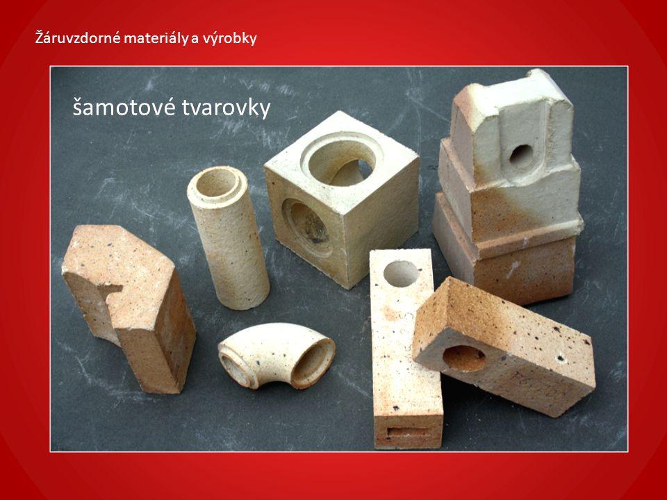 Žáruvzdorné materiály a výrobky šamotové komínové vložky