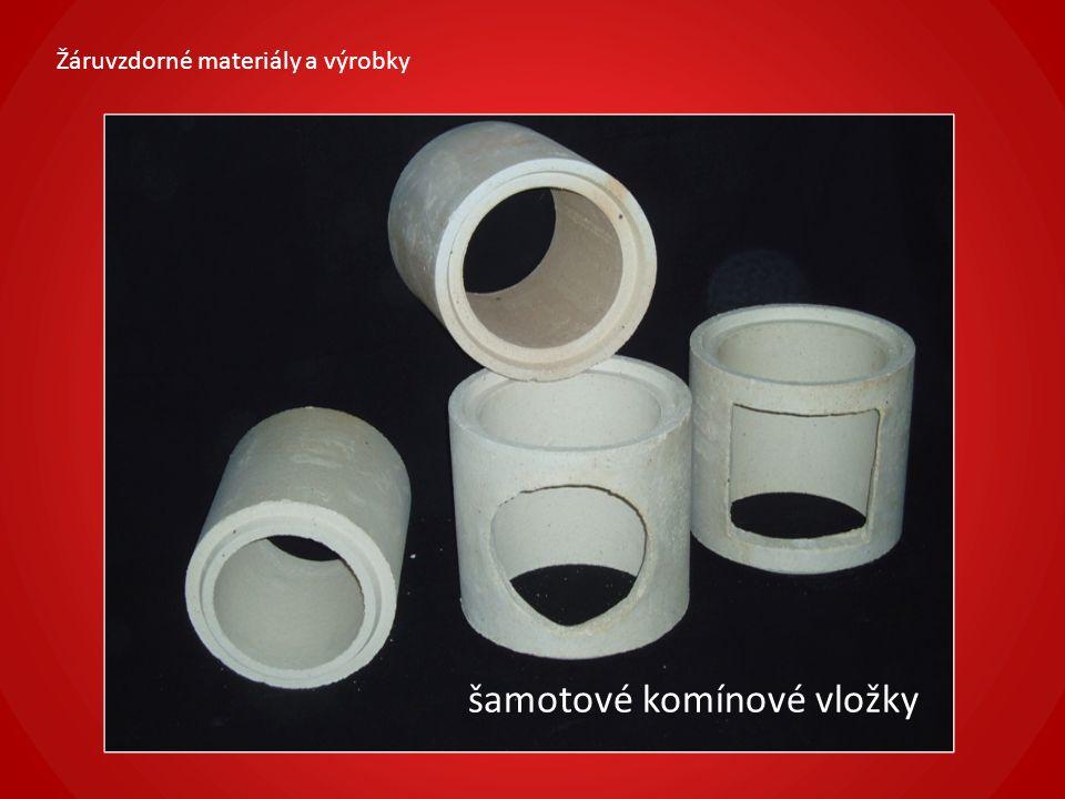Žáruvzdorné materiály a výrobky 2.