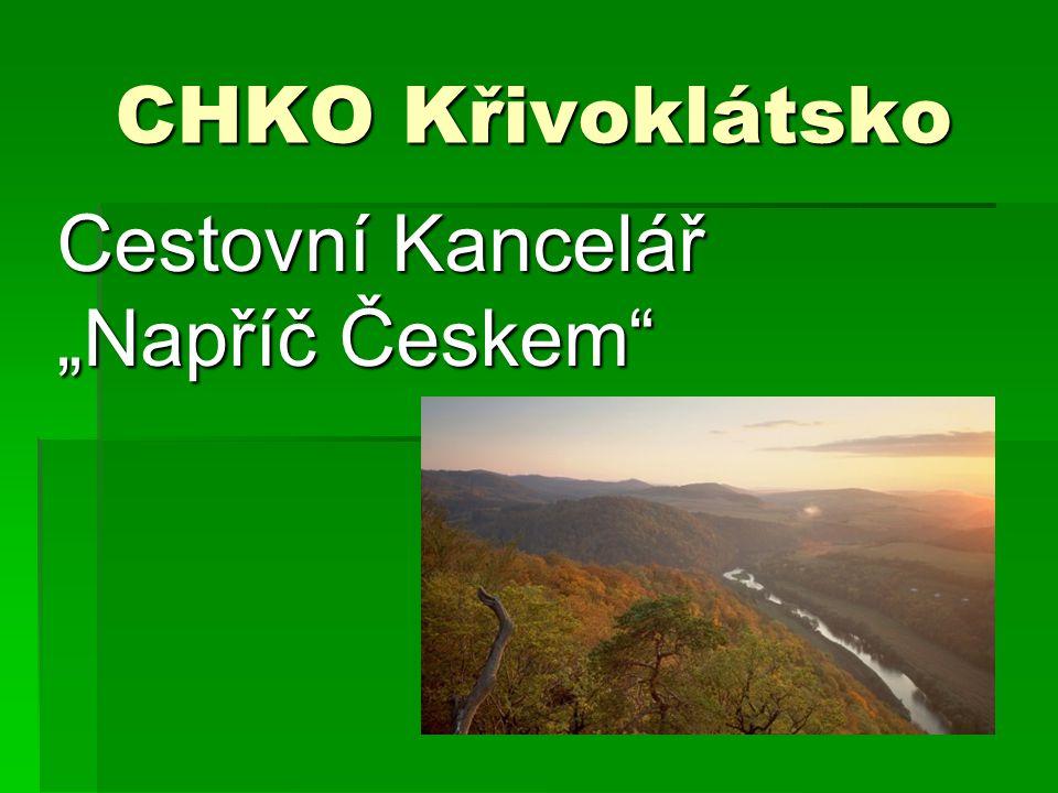 """CHKO Křivoklátsko Cestovní Kancelář """"Napříč Českem"""""""