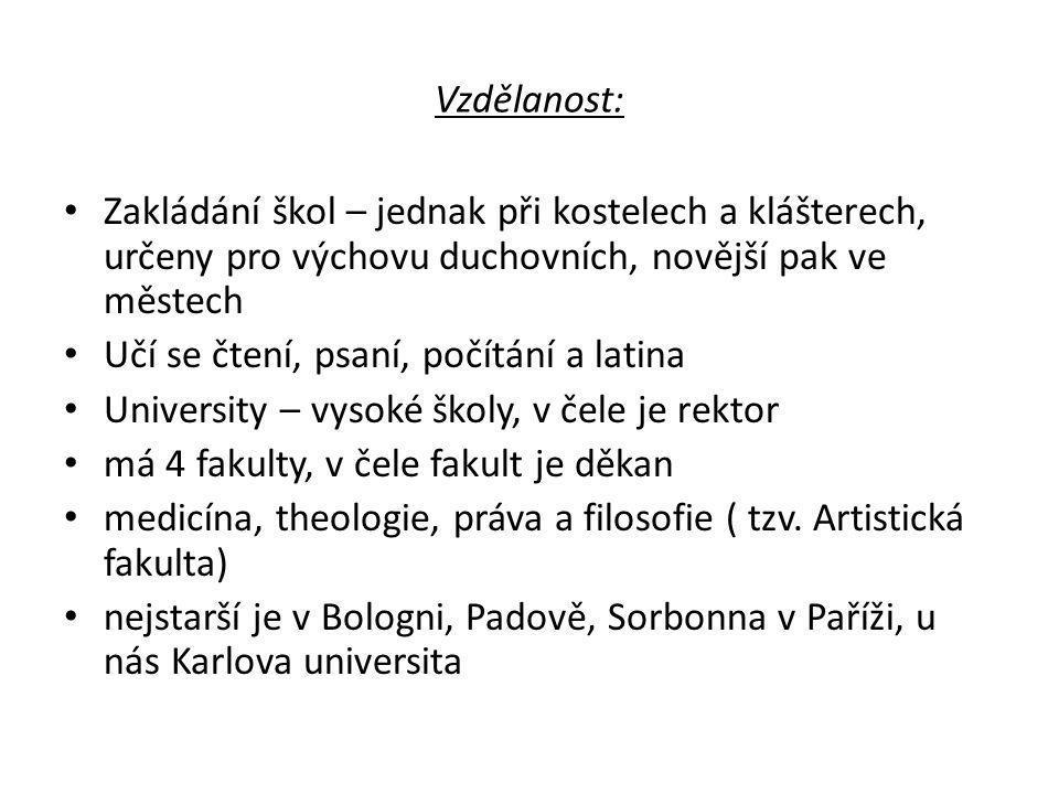 Knihy a jejich šíření: Píší se ručně v klášterech, po r.