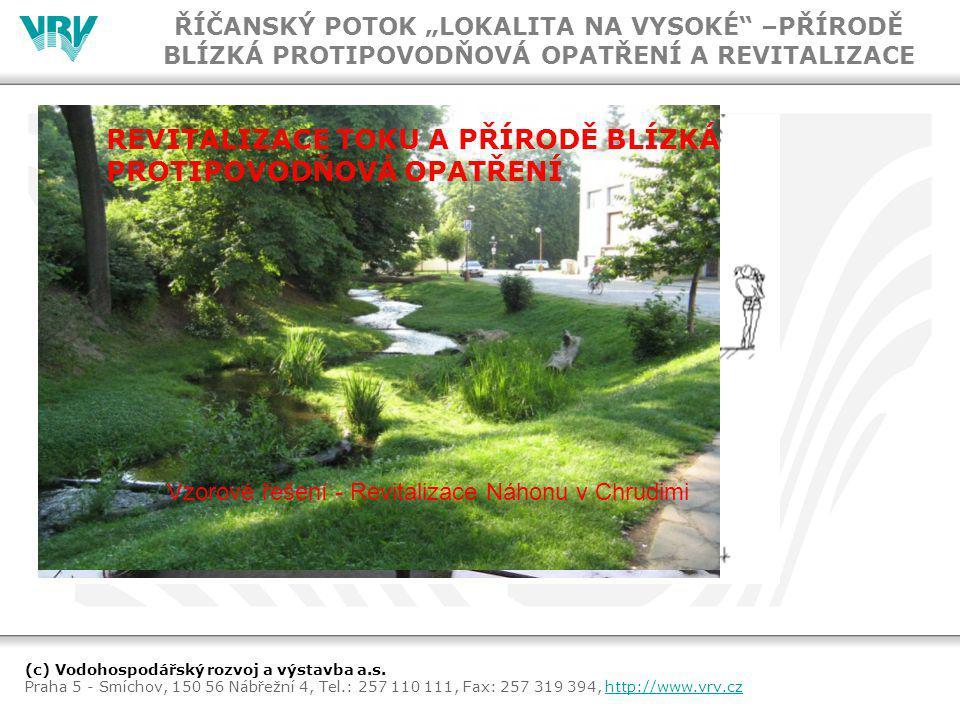 (c) Vodohospodářský rozvoj a výstavba a.s.