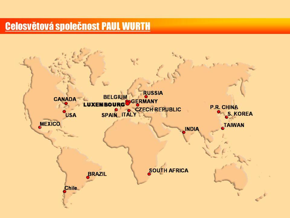 Celosvětová společnost PAUL WURTH