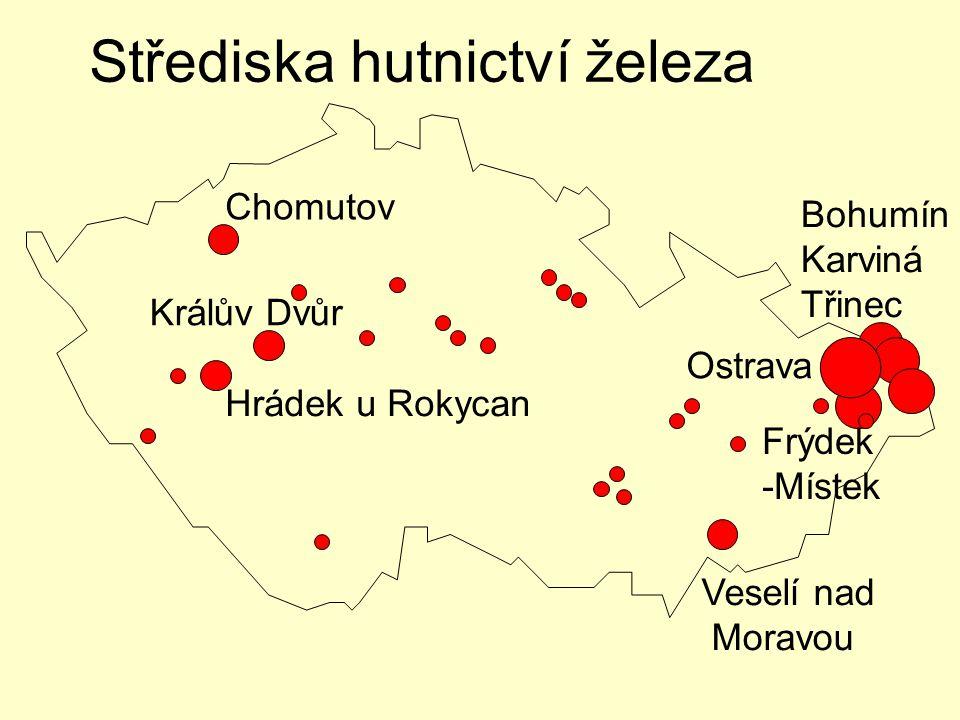 ArcelorMittal – (Nová huť, Vítkovické železárny, Vysoké pece) Arcelor Mittal, Ostrava –koksovna –vysoké pece (103 mil.