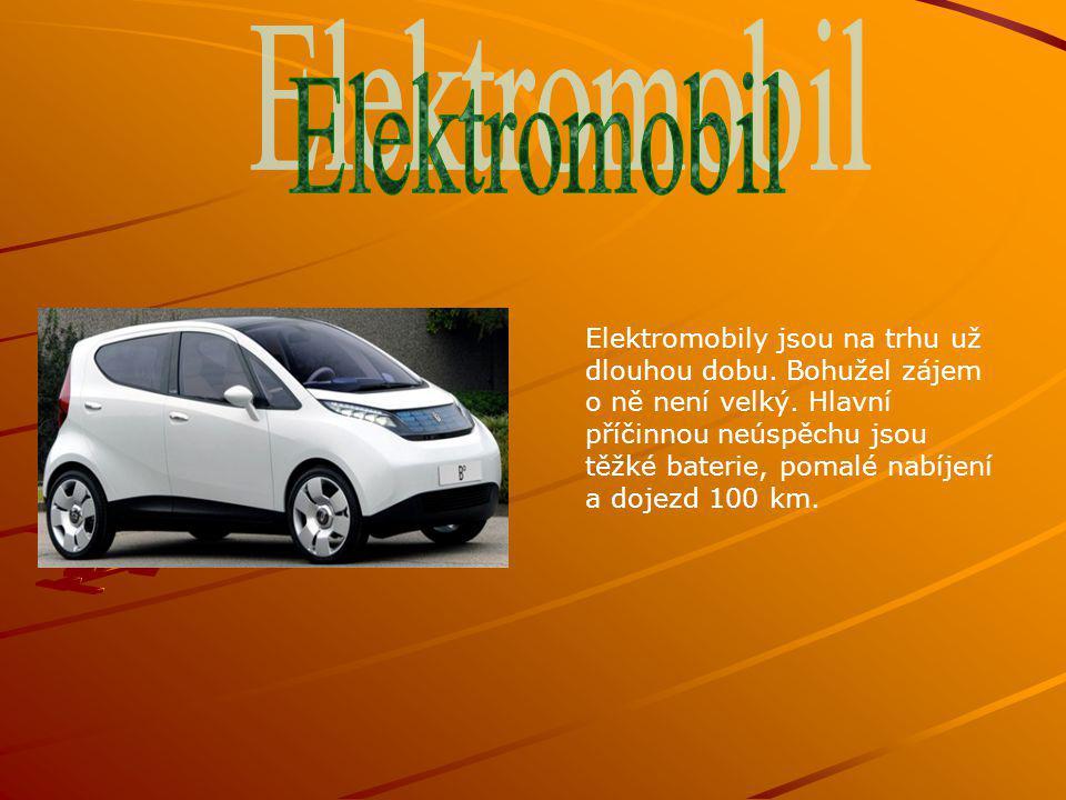 Elektromobily jsou na trhu už dlouhou dobu. Bohužel zájem o ně není velký.