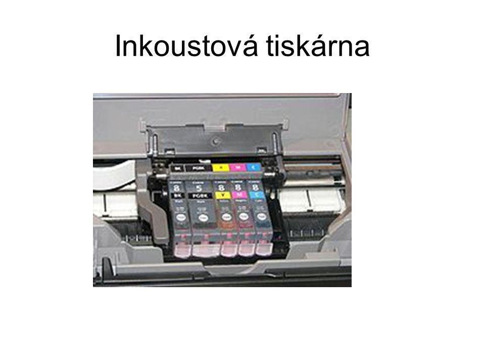 Inkoustová tiskárna