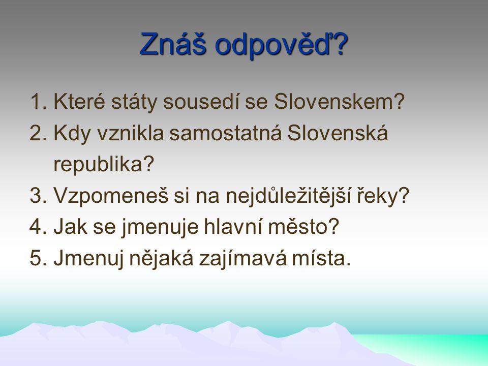 Rekreace Vysoké Tatry Nízké tatry Velká a Malá Fatra Zemplínská Šírava Piešťany Slovenský Raj