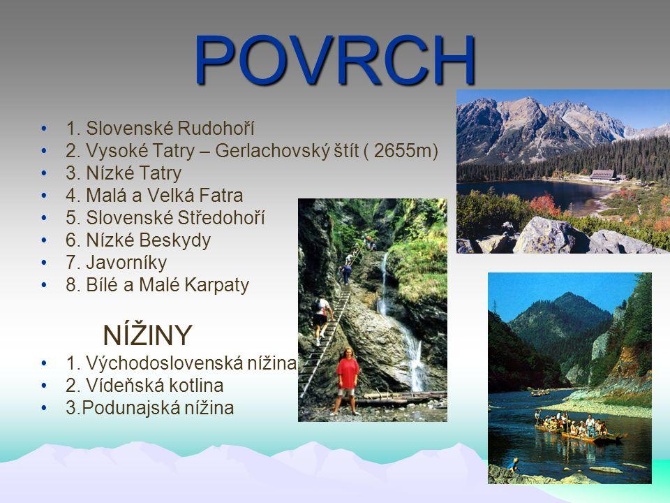 VZNIK Do roku 1918 součást Uherska Od 1918 společný stát Československo Vznik samostatného Slovenska 1.1.1993