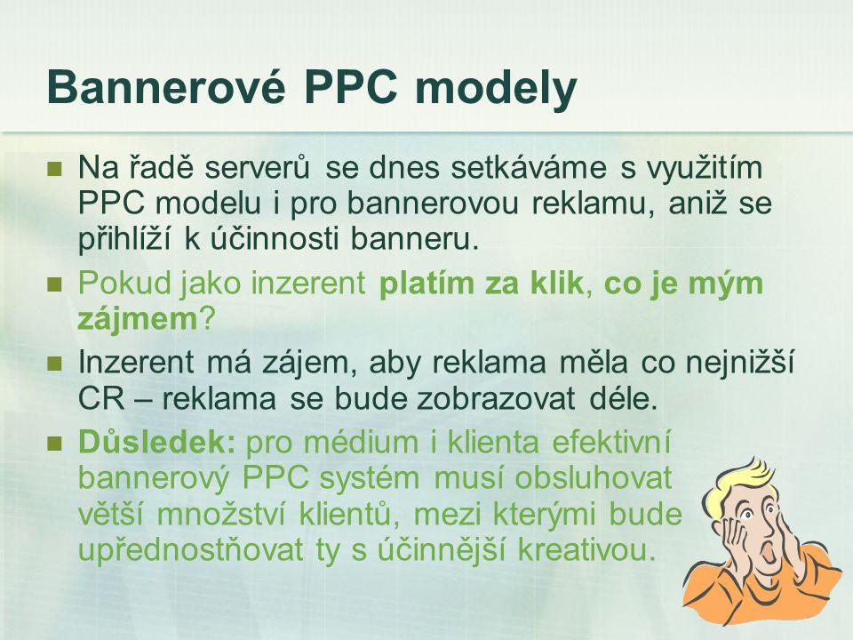 Mýty o PPC Mýtus první: PPC je to jediné, co potřebujete.