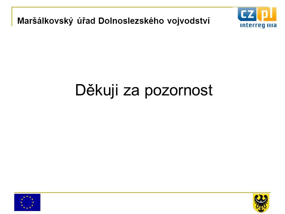 Děkuji za pozornost Maršálkovský úřad Dolnoslezského vojvodství