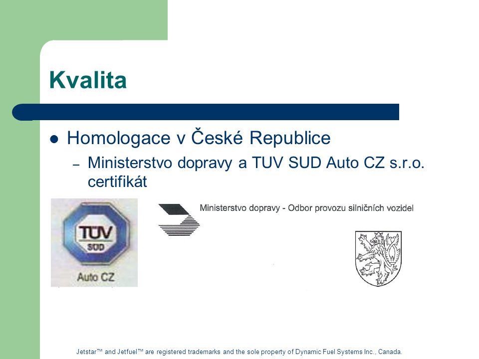 Kvalita Homologace v České Republice – Ministerstvo dopravy a TUV SUD Auto CZ s.r.o.