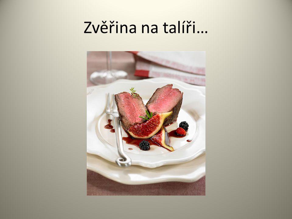 Zvěřina na talíři…