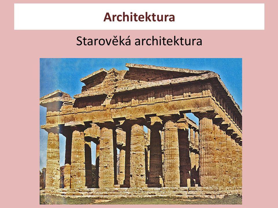 Starověká architektura Architektura