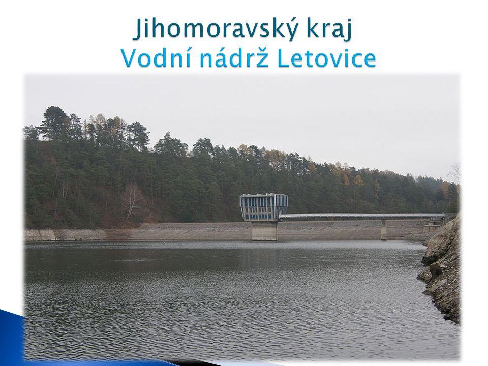 Délka - 4,7 km Největší šířka - 397 m Největší hloubka cca 27 m Zatopená plocha: 104,6 ha  Údolní nádrž Letovice na říčce Křetínka byla vybudována v