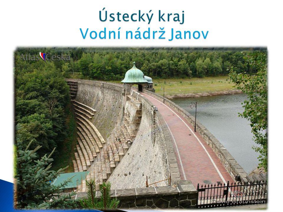  Vodní nádrž Janov se nachází asi 3,5 km severozápadně od Litvínova.  Nádrž byl vybudována v letech 1911-1914 radou města Mostu. Jejím účelem byla o