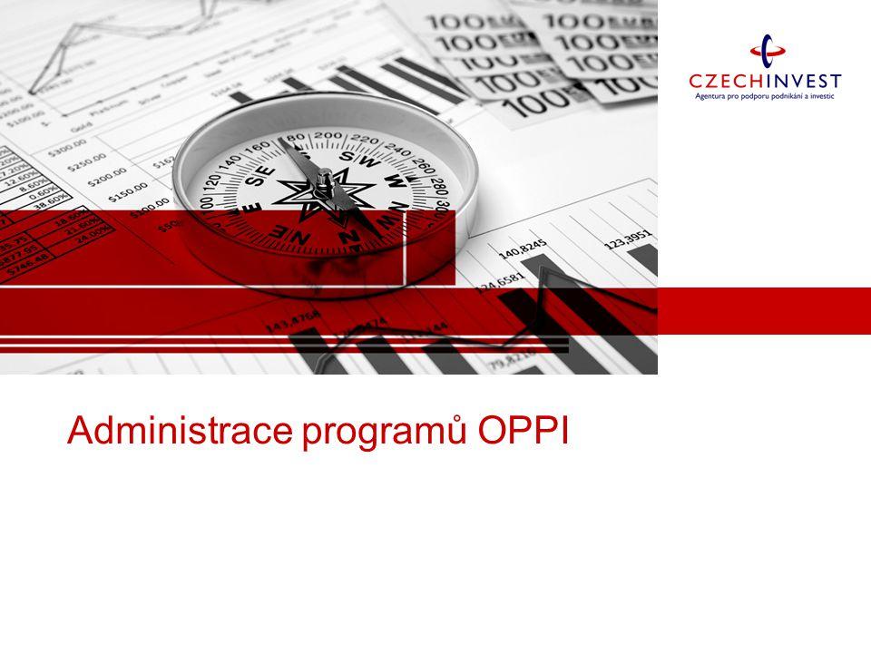 Administrace programů OPPI