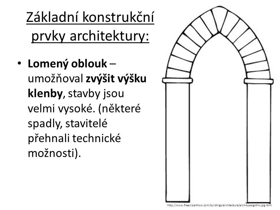 Varianty lomeného oblouku u oken http://gategamegothic.blogspot.cz/2011/04/gotika.html