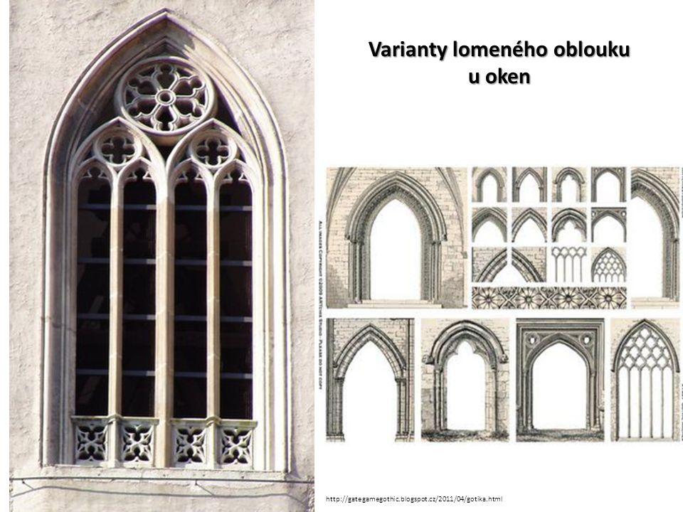 Základní konstrukční prvky architektury: Žebrová křížová klenba – přejata z románského slohu.