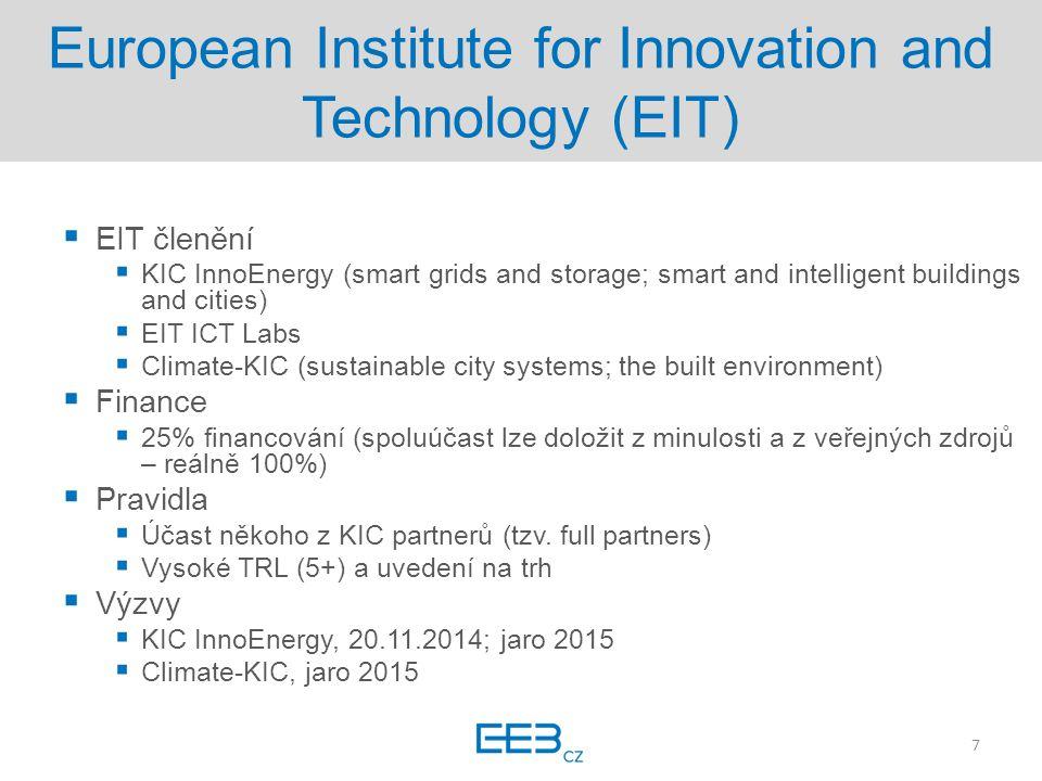EUREKA, Eurostars  EUREKA, Eurostars  Není omezené tématy (bottom-up)  Finance  50% financování  Pravidla  R&D SME  Vysoké TRL, do 24 měsíců na trhu  Kolaborativní projekty (2/2)  Výzvy  EUREKA průběžně celý rok (individual projects)  Eurostars2, 5.3.2015 8