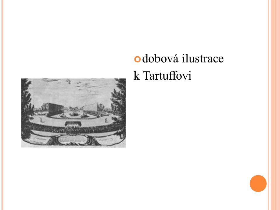 dobová ilustrace k Tartuffovi