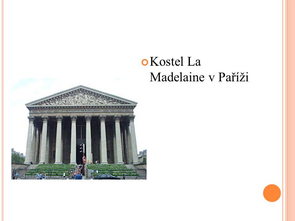 Kostel La Madelaine v Paříži