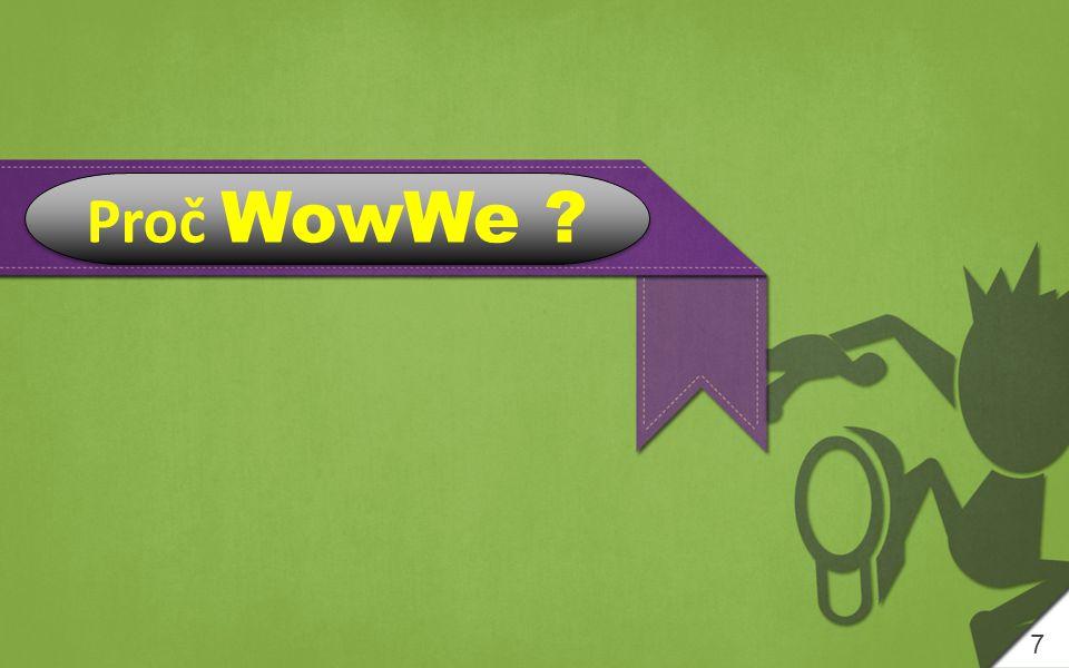 Why WowWe ? 7 Proč WowWe ?