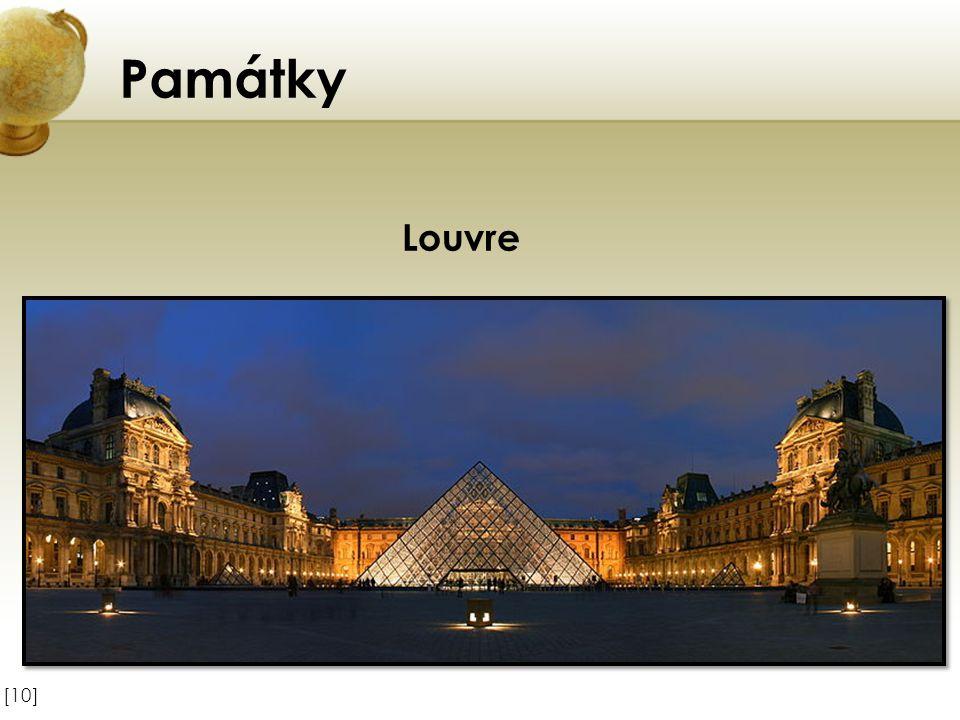 Památky [10] Louvre
