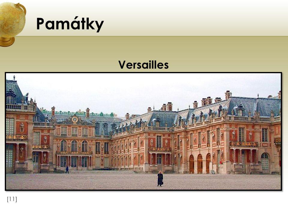 Památky [11] Versailles