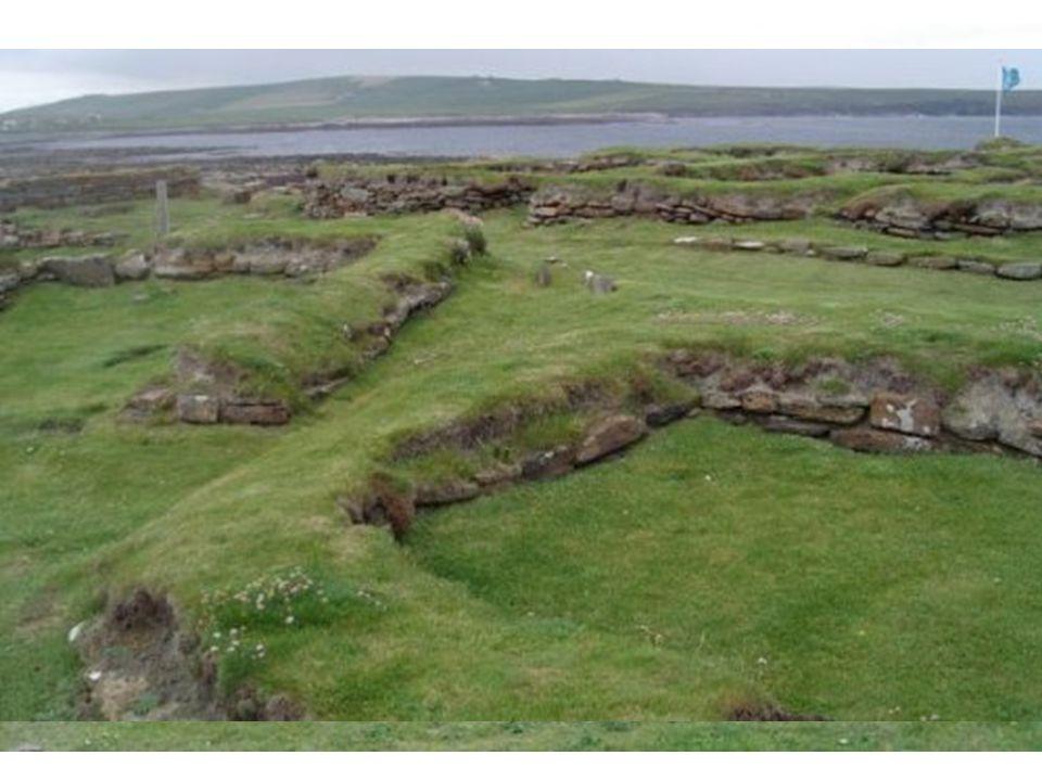 Vikinská obydlí - osady, vesnice, města stavěli později u řek, jezer, moře (Ribe, Hedeby, Birka) →obchodní centra, obchodní výpravy po Evropě a do orientu.