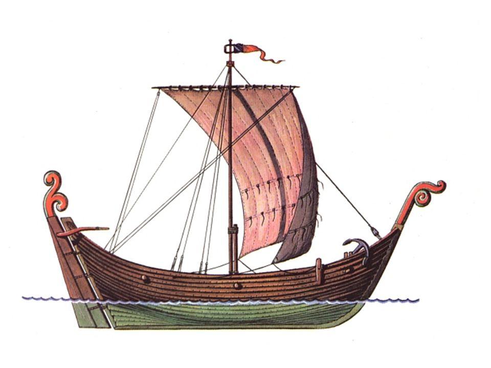 - Knarr- obchodní loď z 10.-11.