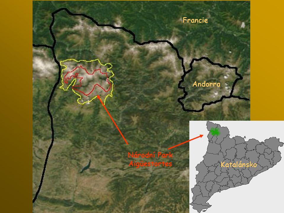 Andorra Francie Katalánsko Národní Park Aigüestortes