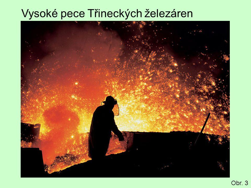 Vysoké pece Třineckých železáren Obr. 3