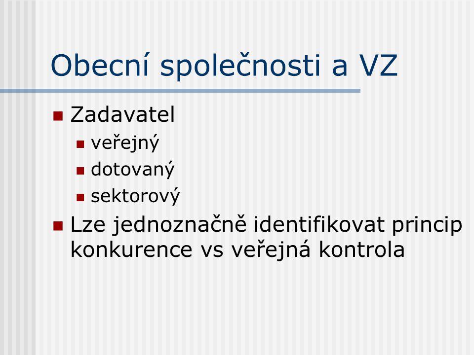 Veřejný zadavatel Česká republika, státní příspěvkové organizace, územní samosprávné celky a jimi zřízené či řízené příspěvková organizace.