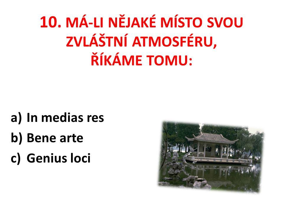 "9. JAK ZNÍ V LATINĚ HESLO ""MODLI SE A PRACUJ a)Pax vobis b)Ora et labora c)Nolens et volens"
