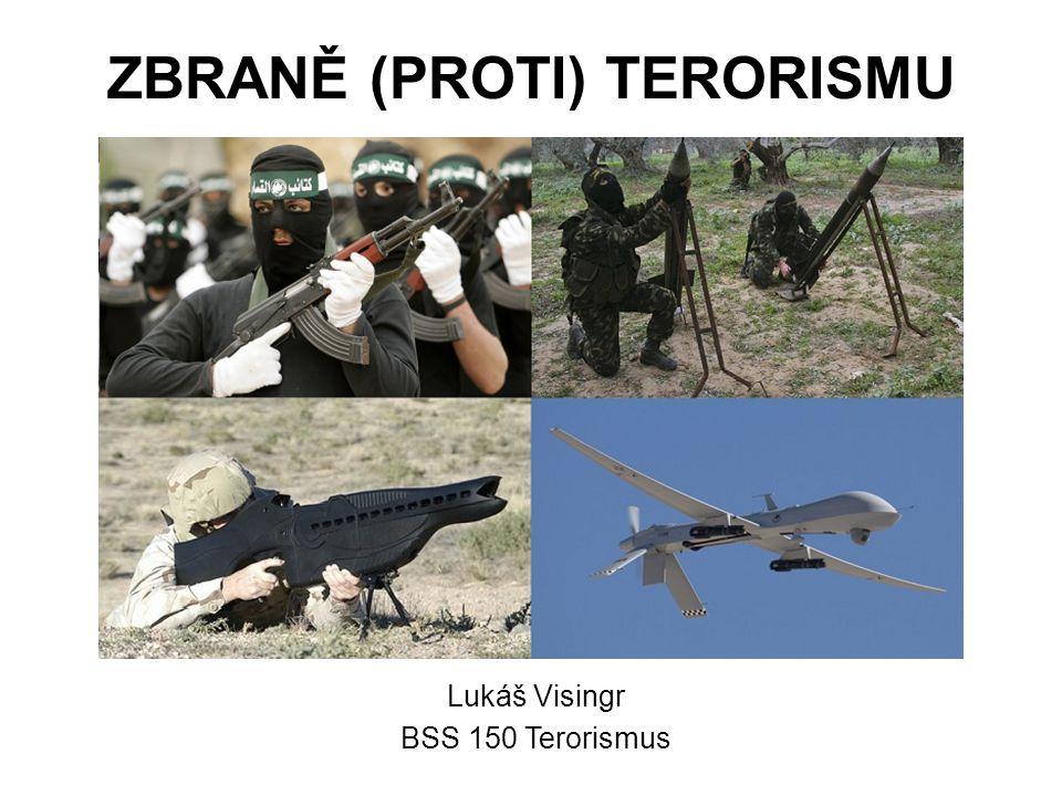 ZBRANĚ (PROTI) TERORISMU Lukáš Visingr BSS 150 Terorismus